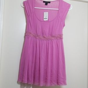 Express Barbie Pink Top